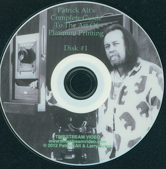 the art of platinum printing by patrick alt