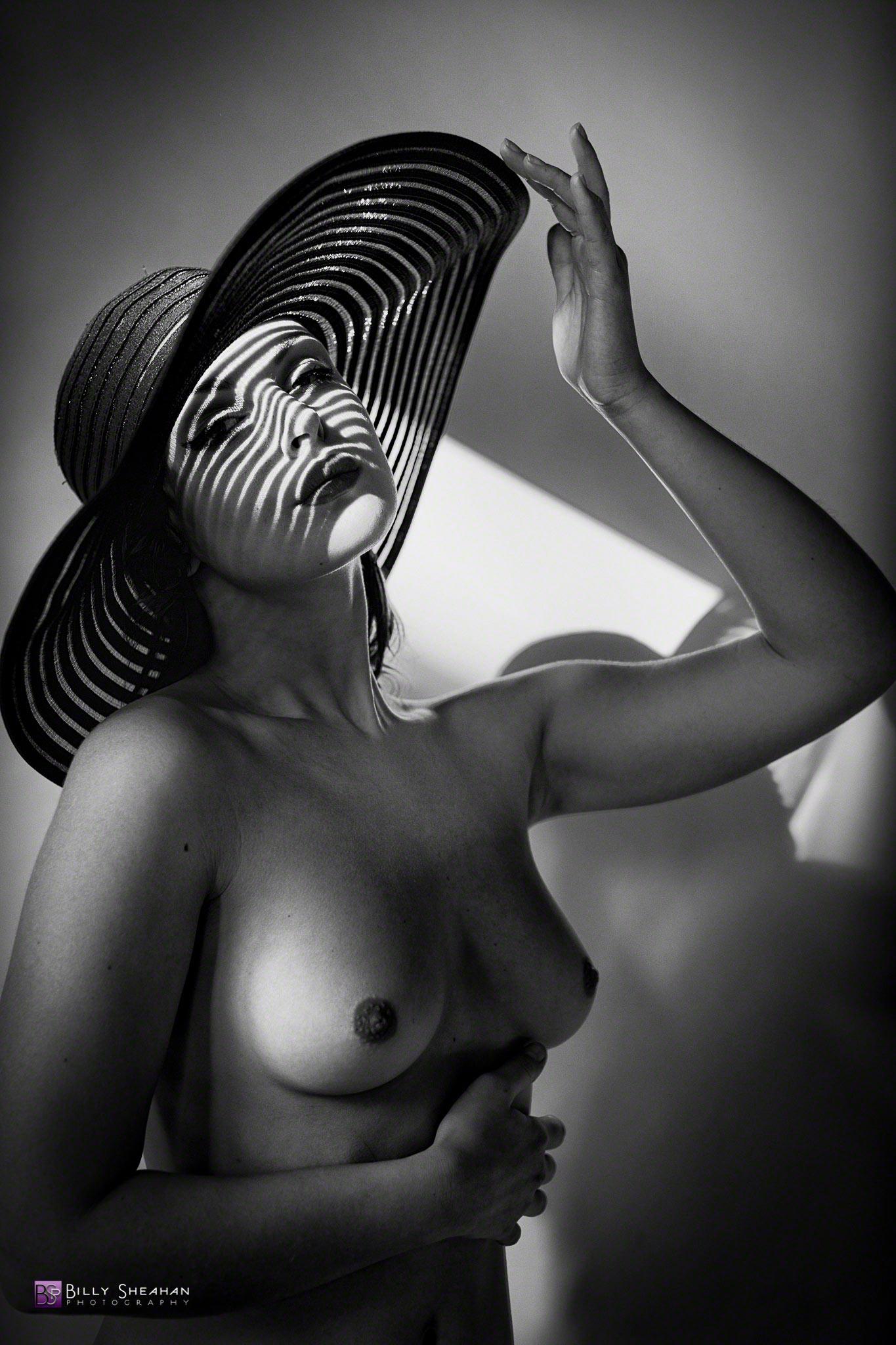 Anastasia Arteyeva in Wide Brimmed Hat © 2014 Billy Sheahan
